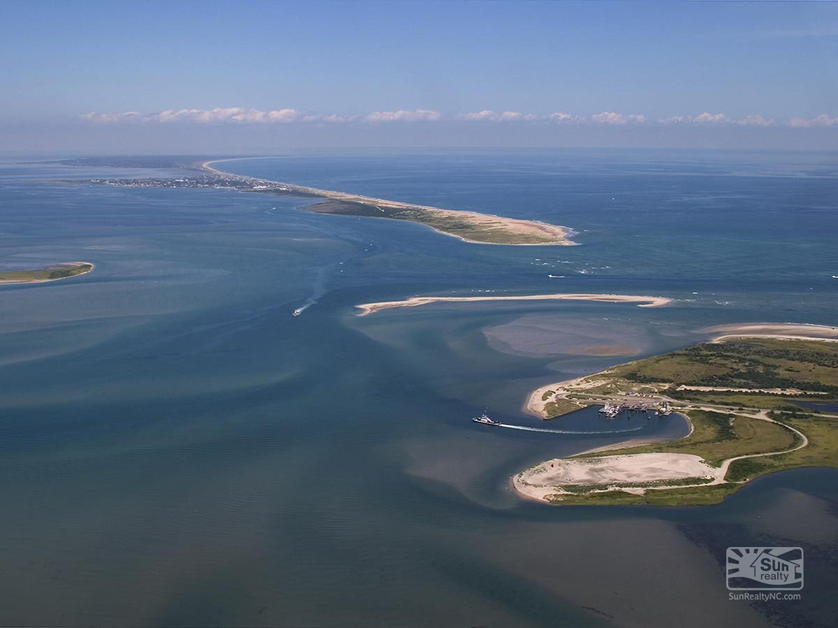 Hatteras Inlet from the Air