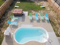 Private Pool and Hot Tub within Fenced-In Yard
