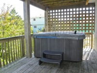 Private Hot Tub on Mid-Level Deck