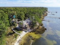 Aerial View of Sally Crab (House on the Left)
